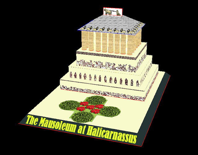 Seven Wonders of the Ancient World Pt.5 – Mausoleum at Halicarnassus
