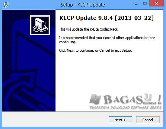 K-Lite Codec Pack Update 9.8.4 2