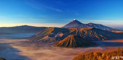 Panorama Gunung Bromo