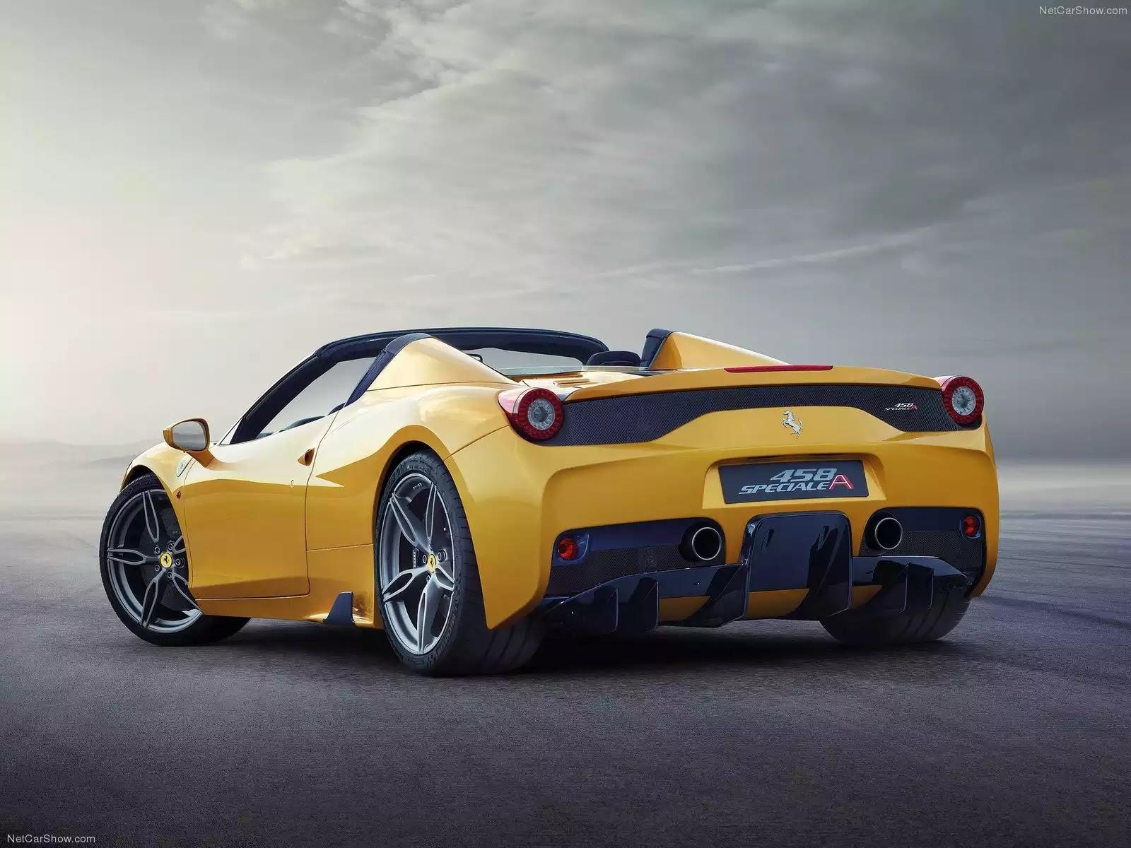Hình ảnh siêu xe Ferrari 458 Speciale A 2015 & nội ngoại thất