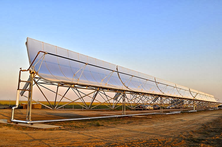 A startup called WaterFX offers  a solar-powered, ultra-efficient desalination system.(Credit: www.fastcoexist.com) Click to enlarge.