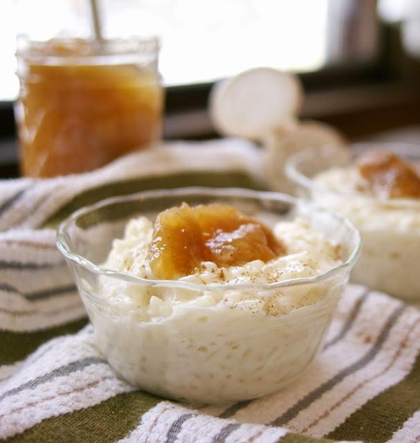 Arborio Rice Pudding: simplelivingeating.com