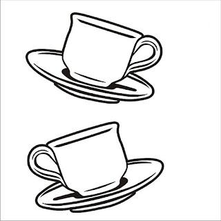 Xícara de café para colorir e imprimir Desenhos para colorir