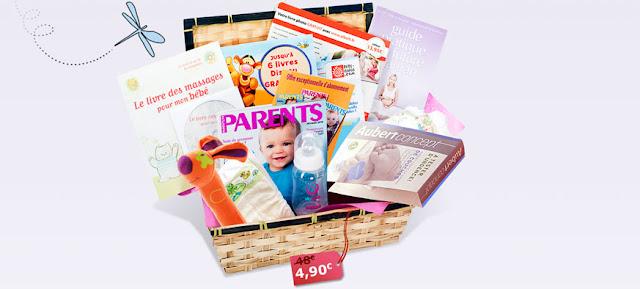Panier pour mamans et bébés à 4,90 € !