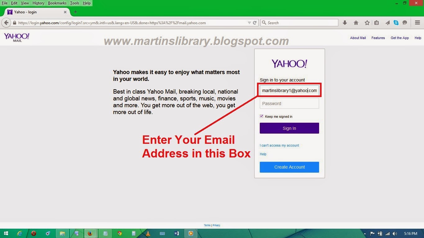 www.yahoomail.com | Yahoo-Mail Sign in - HOW TO SIGN IN TO YAHOOMAIL ...