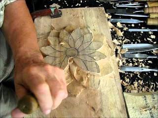 Incisione tecnica d' arte su legno, pietra, rame ecc.