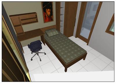 desain interior kamar kos cowok desain rumah rumah