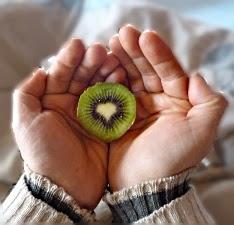 Le coeur du kiwi