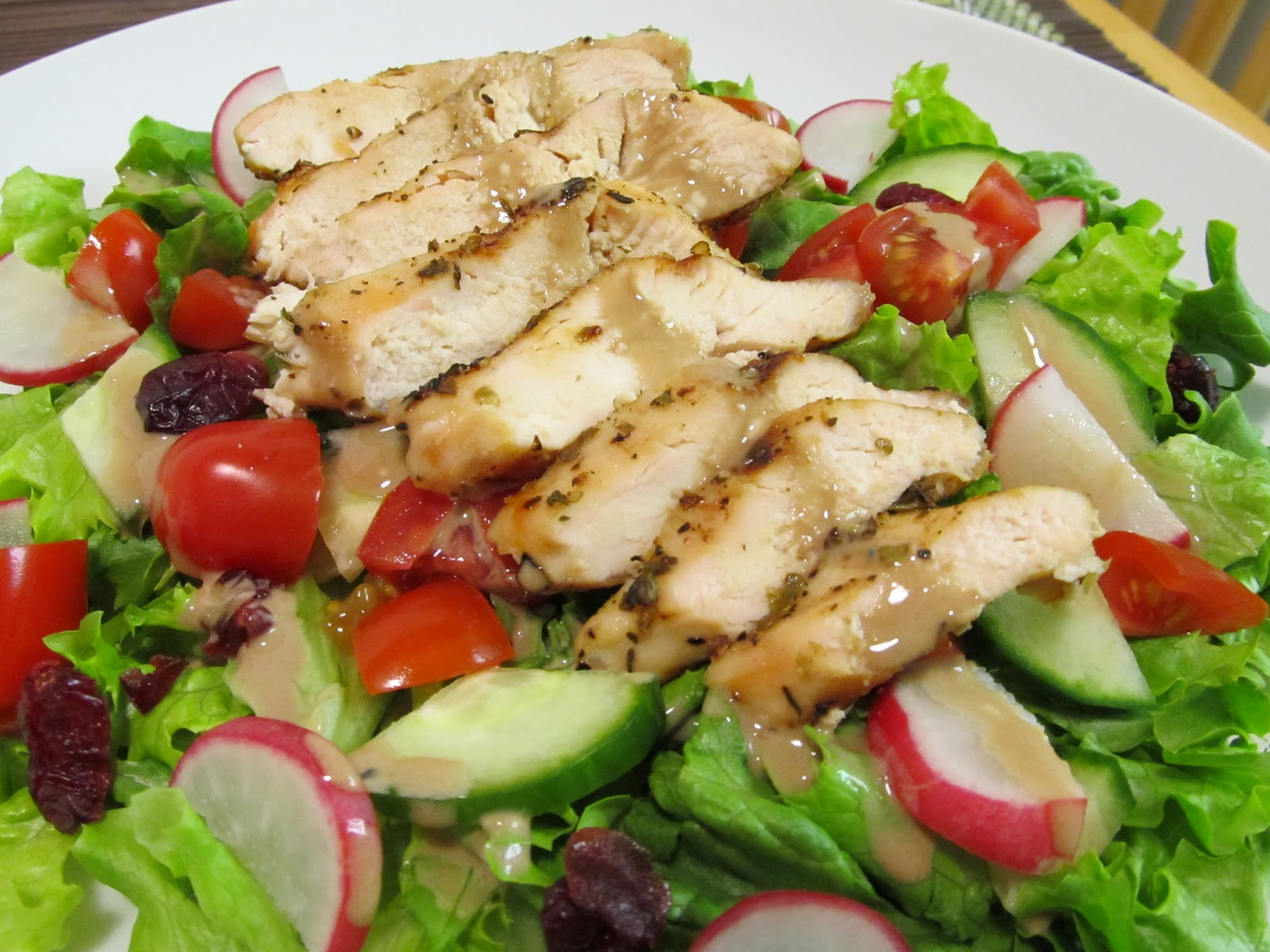 Grilled Chicken Salad Grilled chicken salad with