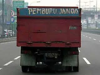 dp bbm truk pemburu janda