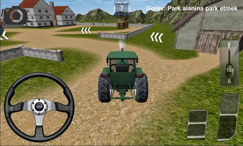 Android Traktör Sürme Oyunu 3D Apk resimi 6