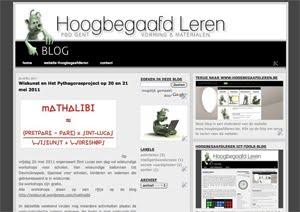 Hoogbegaafdleren weblog