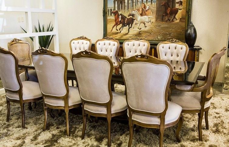 Sala De Jantar Mesa Luis Xv ~ Blog Decoração de Interiores Mesas Classicas de Jantar