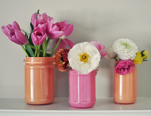 Как сделать вазочку с цветами 776