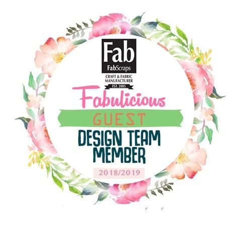 FabScraps Guest Designer 2018-2019