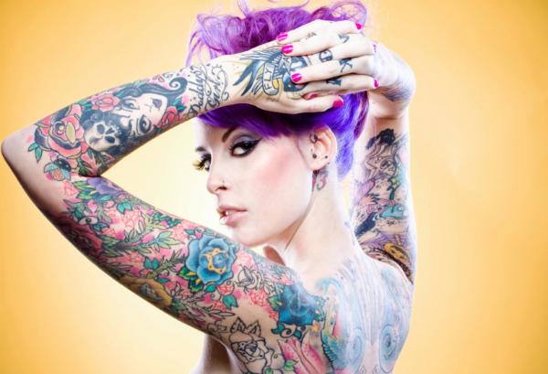 Chicas con Tatuajes