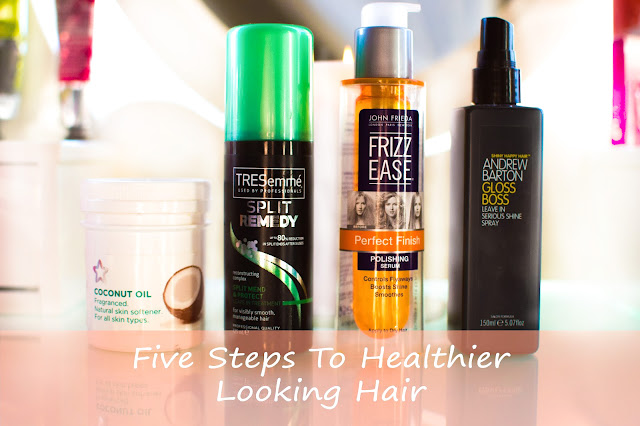 Five steps to healthier looking hair
