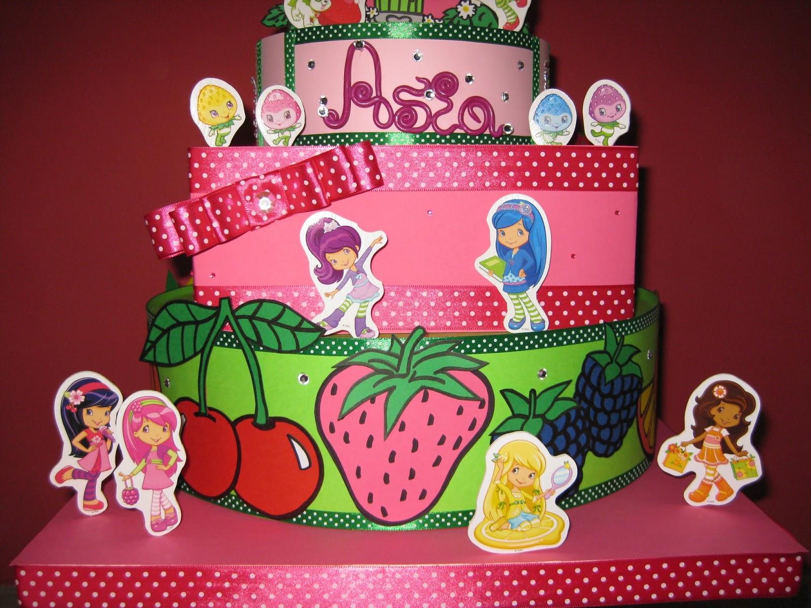 Cartoncini animati fragolina dolcecuore