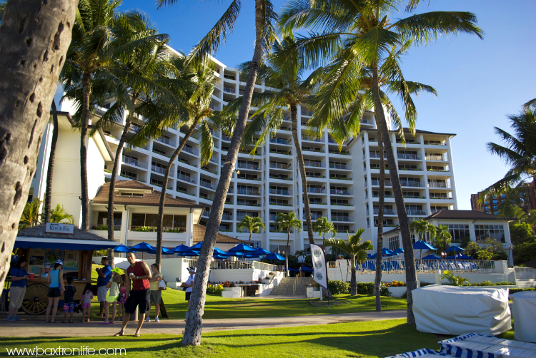 beachfront jw marriott hotel oahu
