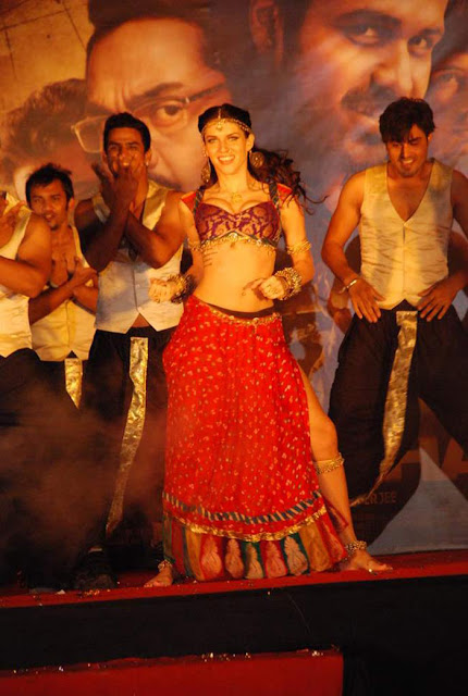 Shanghai Music Launch Stills, Hot Scarlett Mellish Wilson British Model performing item song 'Imported Kamariya'