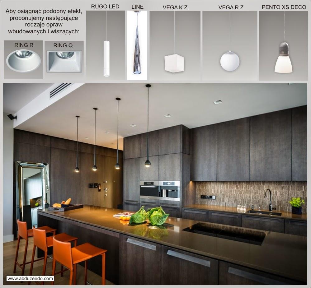 Znajdź Własne źródło światła Pomysł Na Aranżację Kuchni