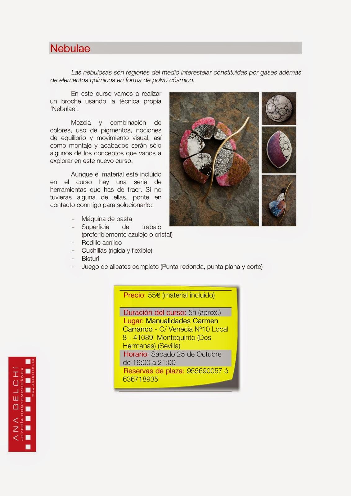 Ana Belch Cursos En Sevilla Y Madrid ~ Cursos De Manualidades En Madrid