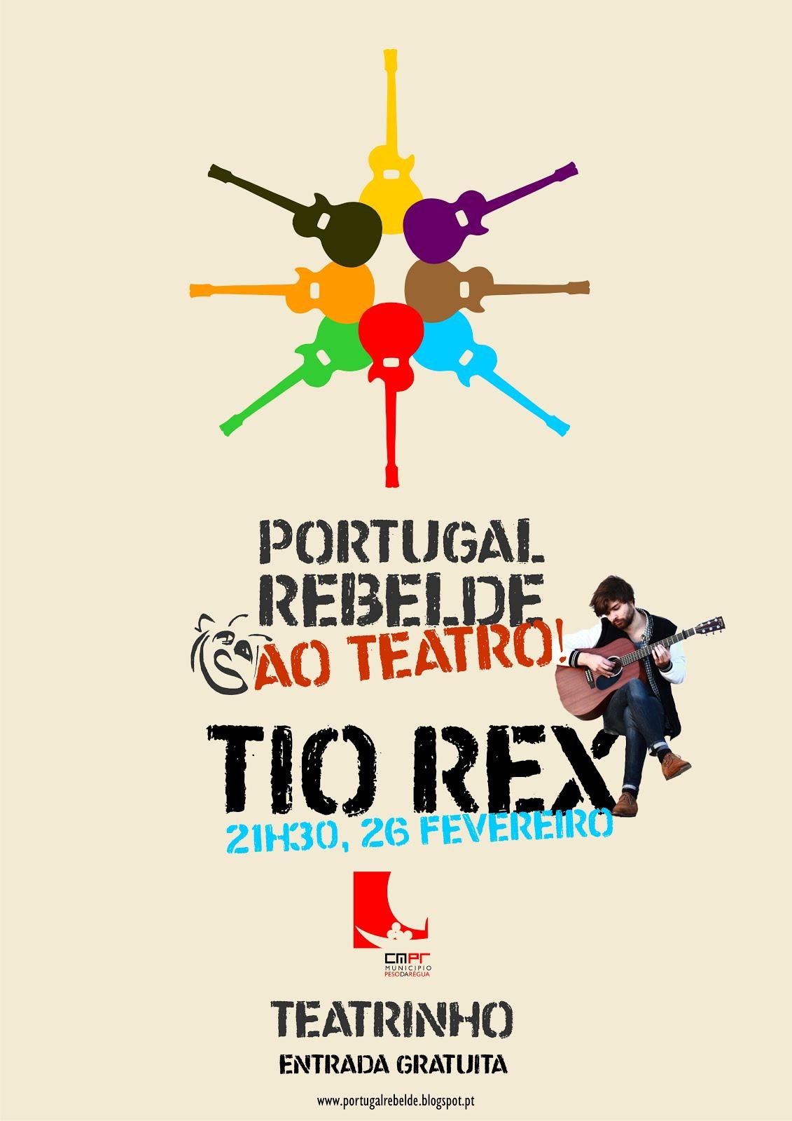 Portugal Rebelde ao Teatro!