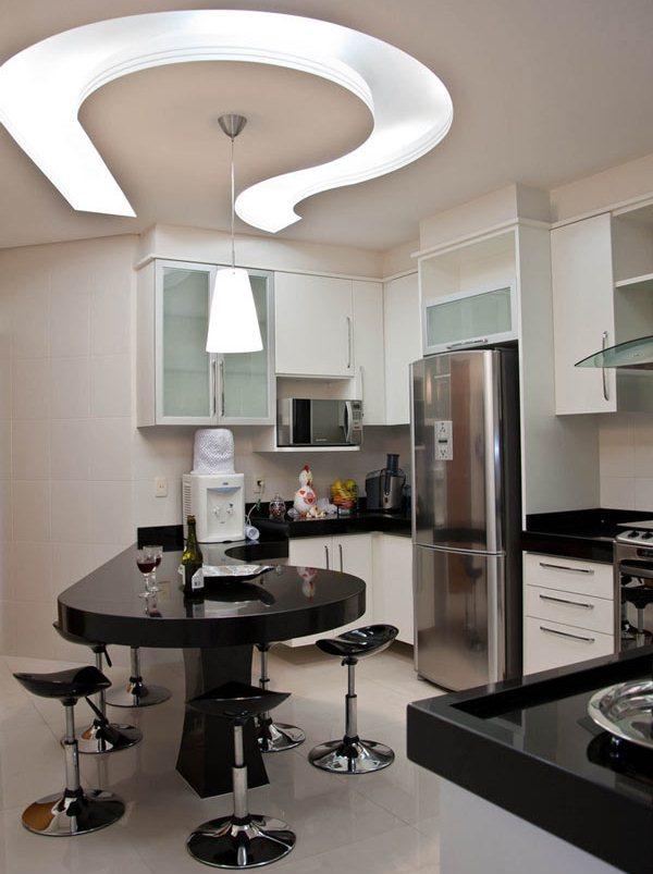 Berbagai Desain Meja Dapur dan Ruang Makan Berkelas