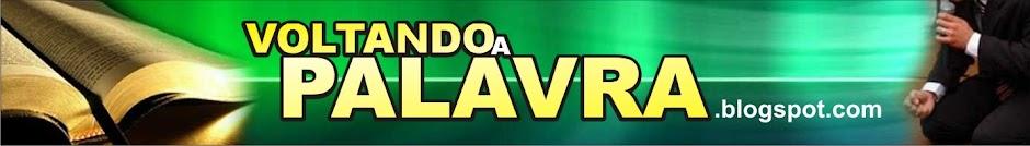 VOLTANDO A PALAVRA