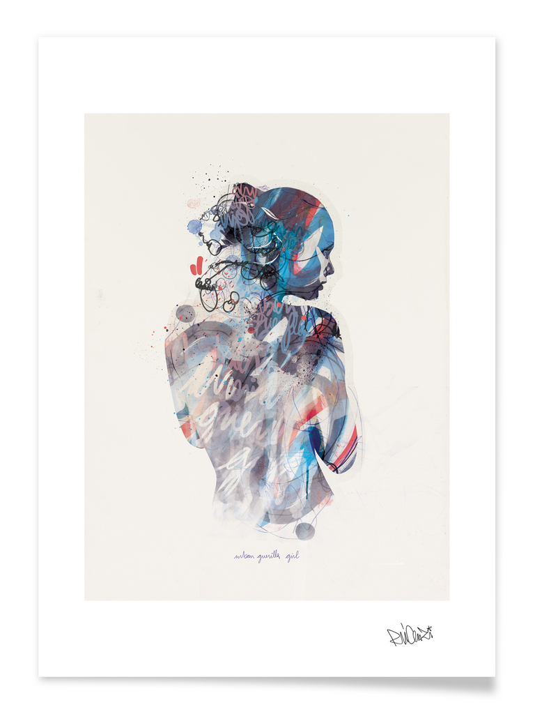 ©Raphael Vicenzi (My Dead Pony) - Infinite Heartbeats | Curioos. Ilustración | Illustration