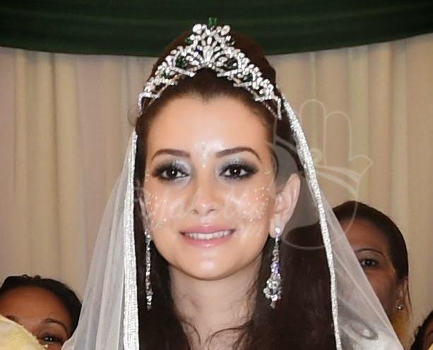خاتم زواج الأمير رشيد بأم كلثوم بوفارس