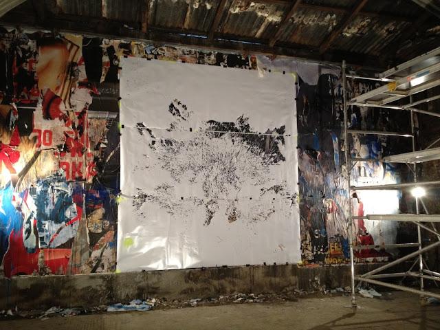 Creando el mural del lobo Eristoff Black