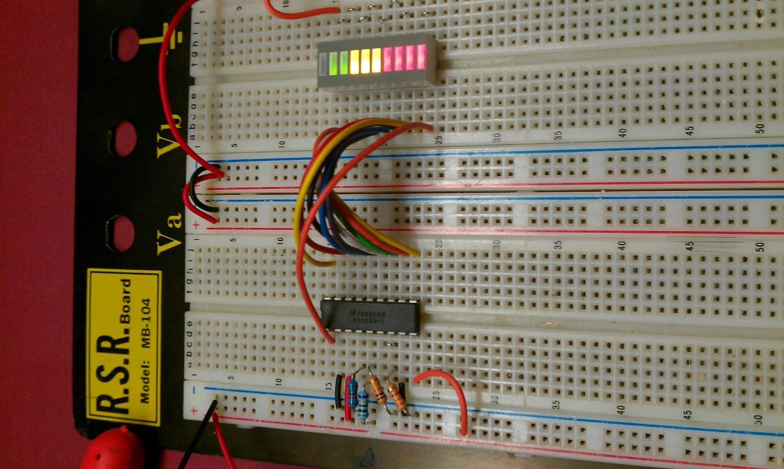 N1ir Electronics Website February 2013 5v O2 Sensor Circuit Using Lm3914 Led Display For Car Airfuel Mixture Dot Mode