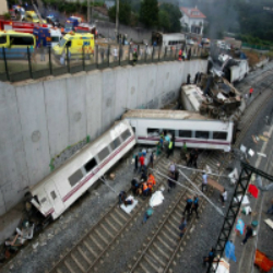 Um brasileiro está entre os 78 mortos no acidente em trem em Santiago de Compostela