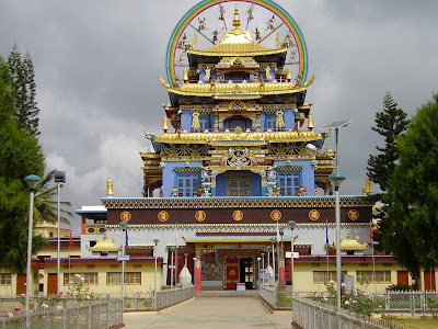 Bylakuppe Buddhist Golden Temple-Coorg