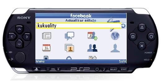 facebook movil para psp