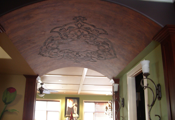 Alamodeus roll out the barrel for Barrel ceiling ideas