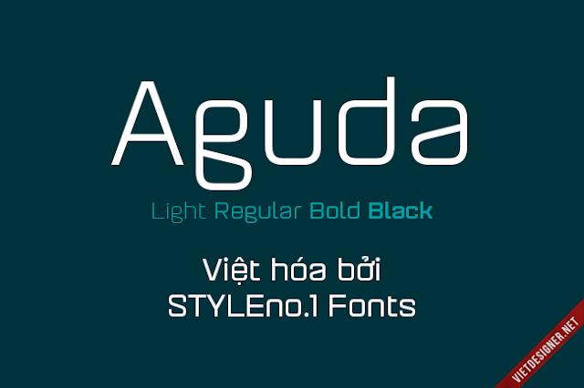 [Sans-serif] Aguda family Việt hóa
