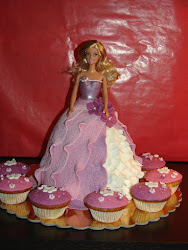 Bolo da Soraia - Barbie