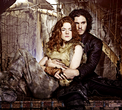 Ygritte Rose Leslie Jon Nieve Kit Harington Entertainment  Weekly - Juego de Tronos en los siete reinos