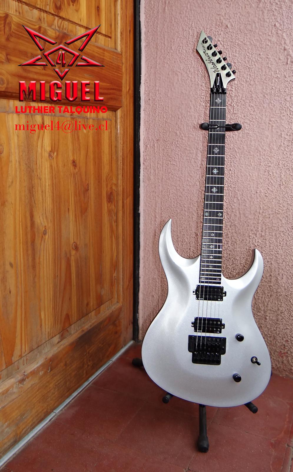 Luthier miguel4 talca guitarra electrica washburn hm for Luthier guitarra electrica