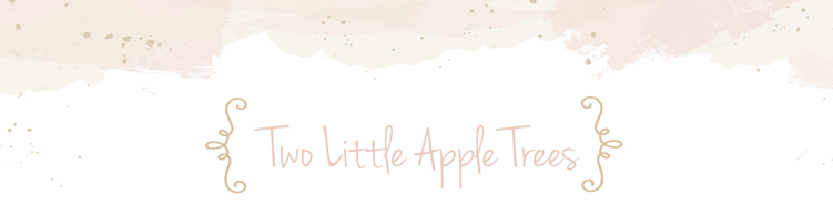 Two Little Apple Trees
