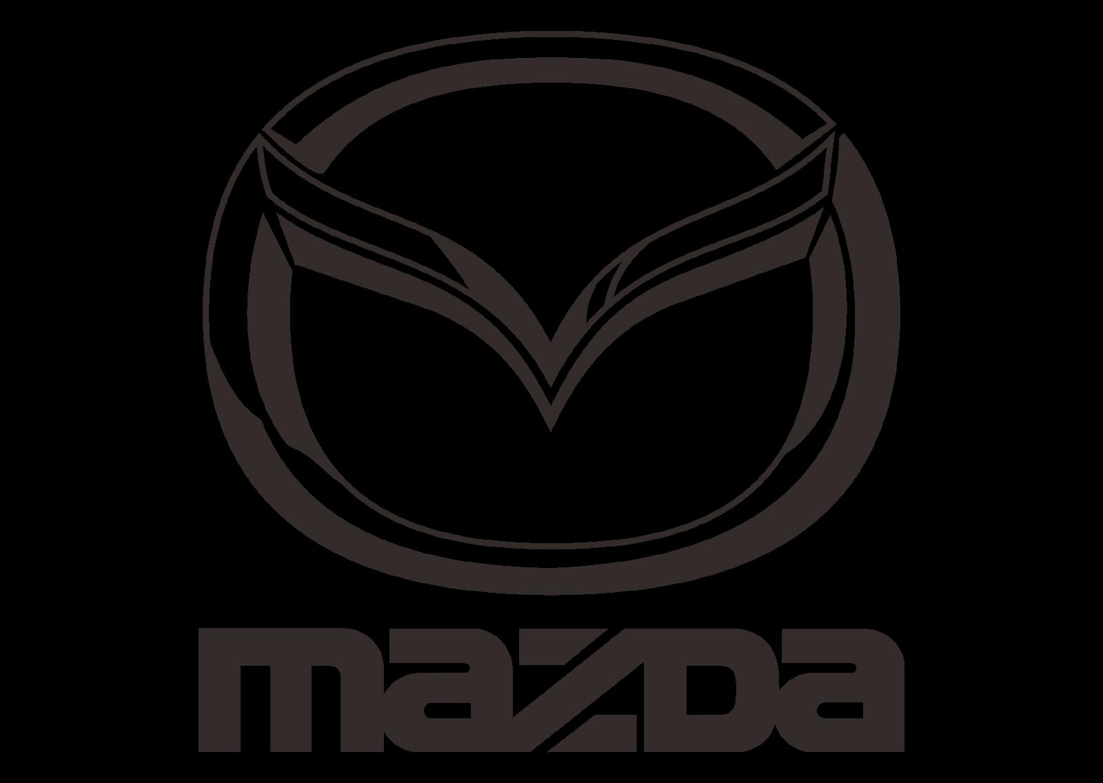 Mazda logo vector part 2 black white automaker company format cdr
