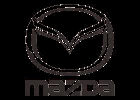 download Logo Mazda (Black White) Vector