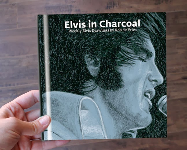 Elvis in Charcoal boek