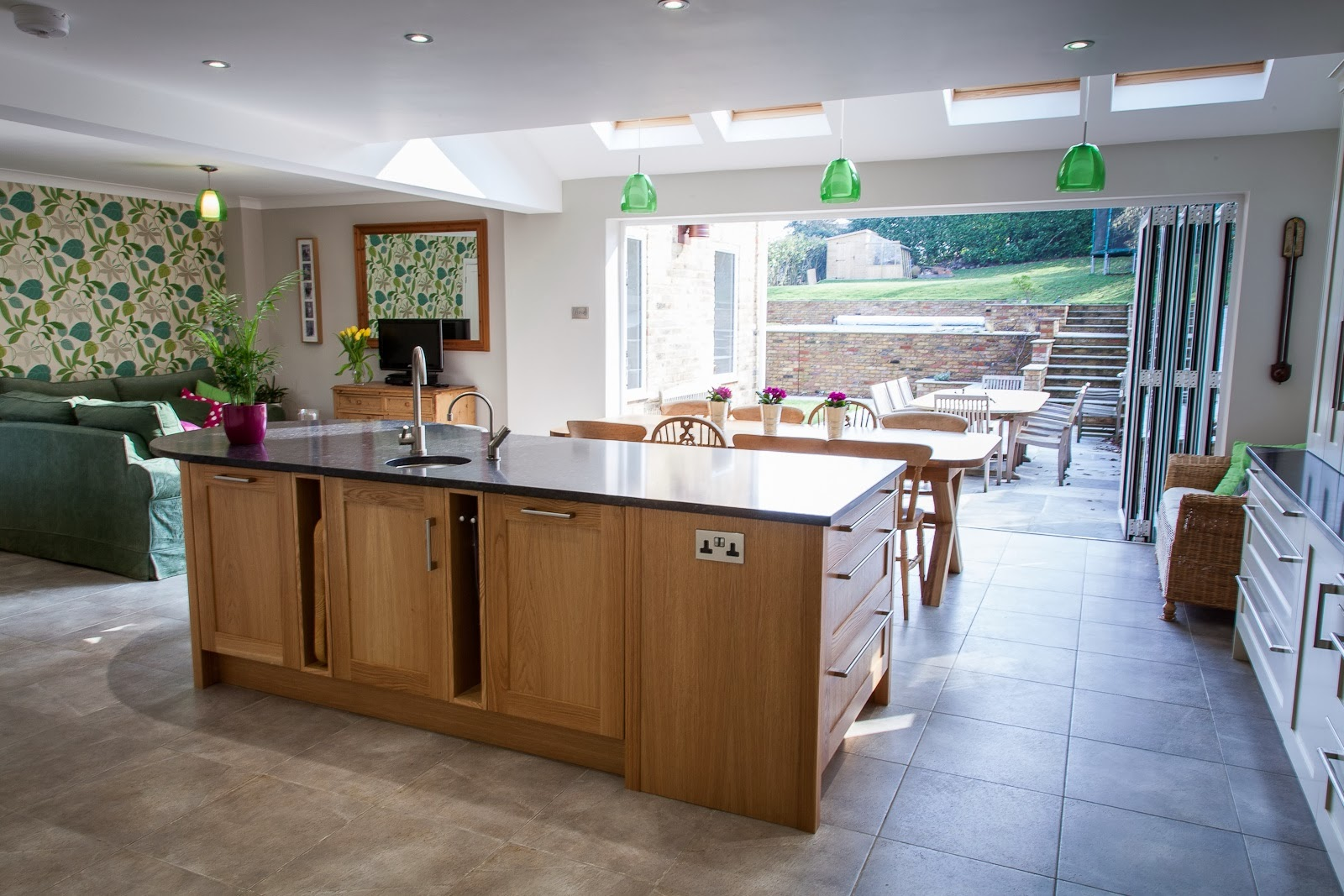 planet furniture: a funky open plan family kitchen