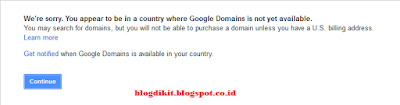 Custom Domain di Google Domains