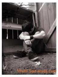 صورة شاب حزين جدا