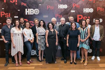 O lançamento reuniu parte do elenco e direção da série, que estreia no dia 4 de outubro, às 22h - Divulgação