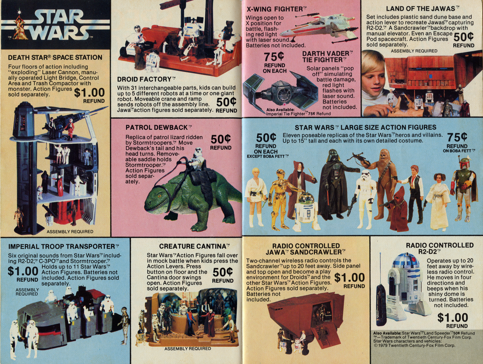 Kenner Star Wars Toys : Neato coolville kenner toys coupon booklet